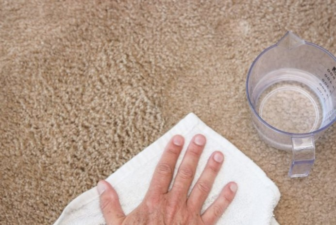 Removing Carpet Stains with Water